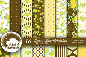 Lemonade Digital Papers, AMB-1250