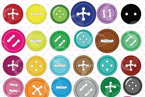 Button clipart AMB-304