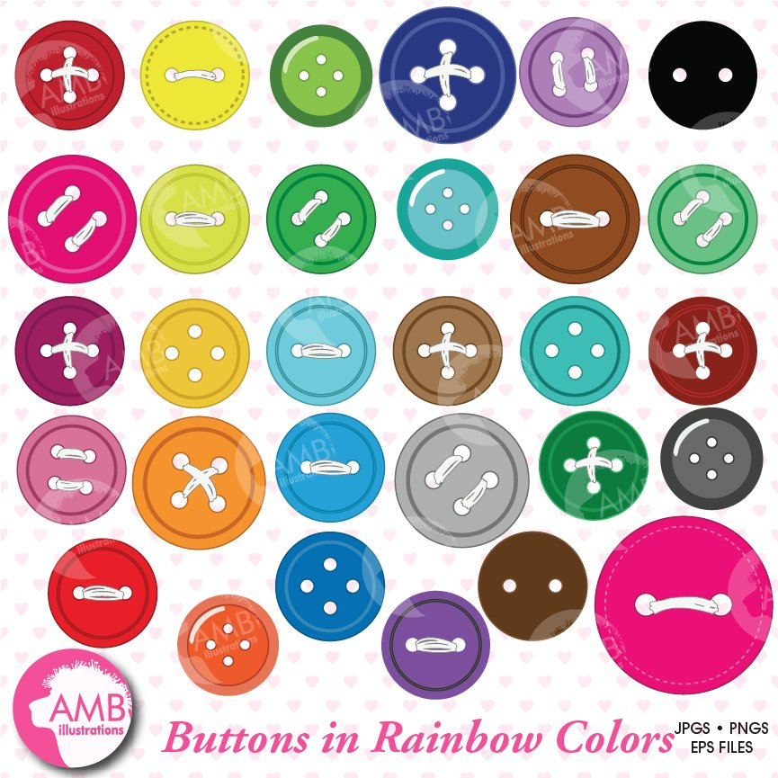 Button clipart AMB-304 ~ Illustrations ~ Creative Market
