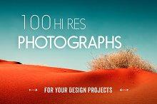100 Hi-Res Photos