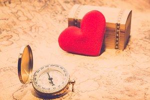 Finding love like treasure