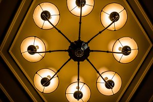 Ceiling light decor