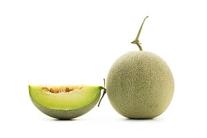 Sweet green melon