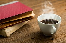 Fresh morning coffee