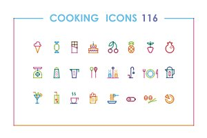 116 cooking icons