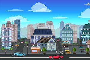 City Background 2D