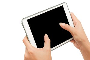 Hand use tablet PC