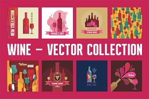 Wine - Vector Collection