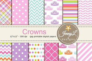 Crowns Digital Papers