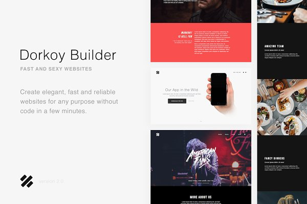 Bootstrap Themes: Dorkoy - Dorkoy Website Builder