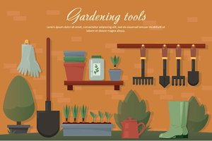 Garden agricultural accessories