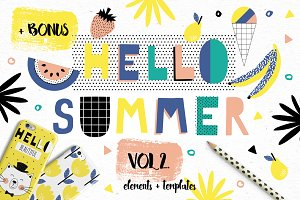 Hello Summer bundle VOL2