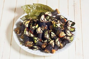Galician cooked goose barnacles