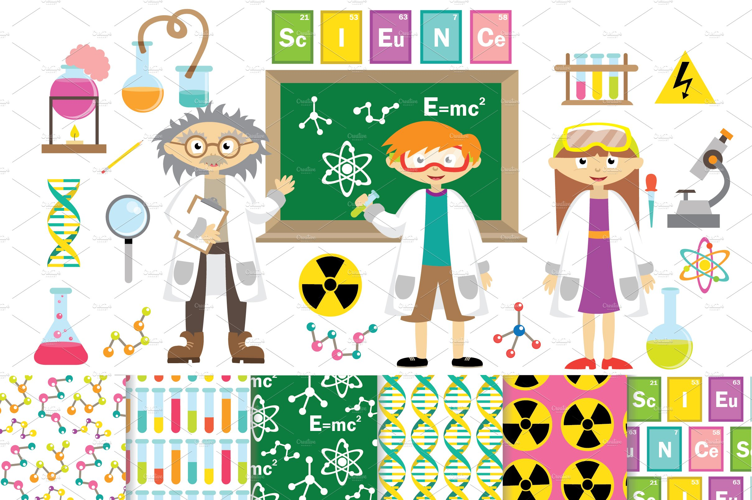 science clipart paper digital chemistry vector graphics graphic drawing creative illustrator watercolor materials