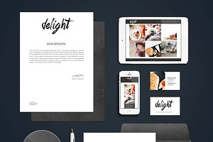 Logo & Branding Kit - Delight