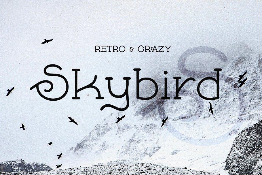Skybird Font