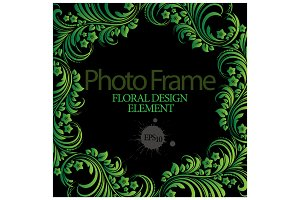 Vector photo frame