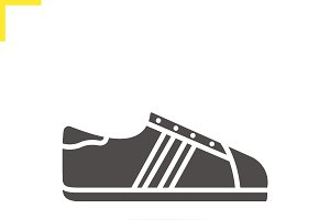 Sneakers icon. Vector