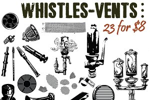 Whistles and Vents