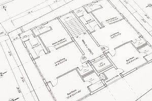 Blueprint houseplan