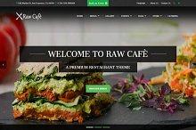 Raw Cafè-Bootstrap Theme Restaurant