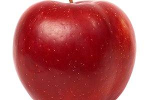Red fresh apple