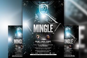 Mingle Flyer Template