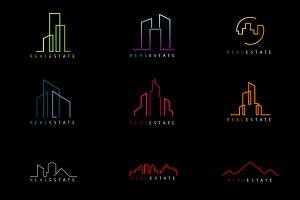 Real Estate Shapes For Logos
