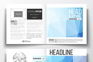 Bundle of 52 brochure templates