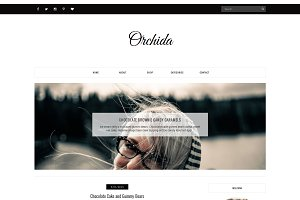 Blogger Template - Orchida