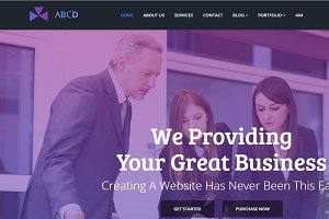 Corporate & Business HTML5 Template
