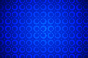 Seventies Vintage Blue Wallpaper