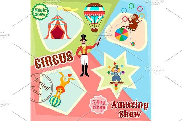 Posters Circus Amazing Show