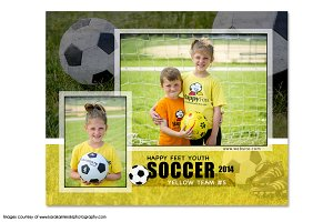 Soccer Memory Mate Template - MM3
