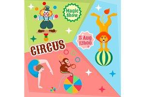 Actors circus Poster.