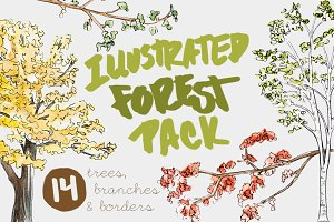 Illustrated Forest Pack
