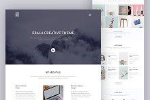 Creative Ebala Website PSD Template