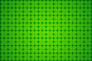 Irish Four-leaf clover Wallpaper