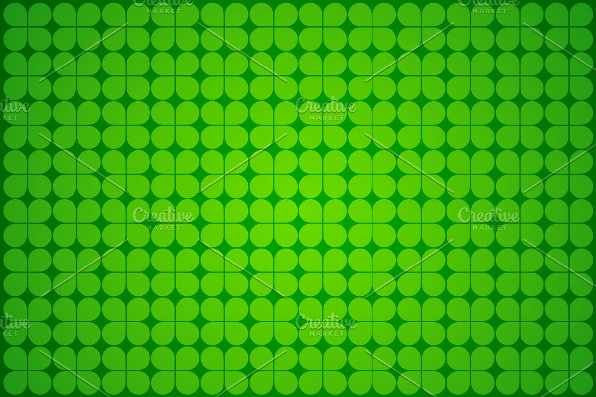 Irish Four Leaf Clover Wallpaper