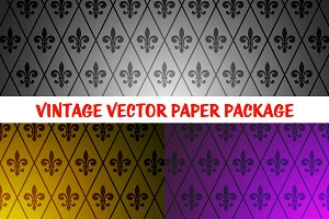 3 Fantastic Exclusive Retro Patterns