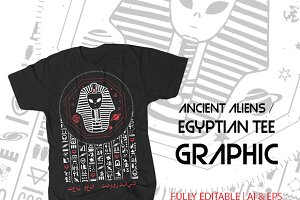 Ancient Aliens Tee Graphic