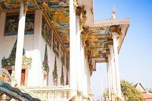 temple Wat Ek Phnom, Cambodia