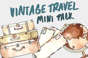 Vintage Travel Mini Pack