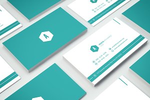 Clean Minimal Business Card - 03