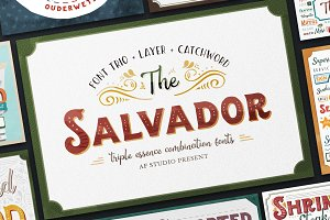 The Salvador - Font Combination