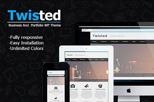 New Twisted - Portfolio Theme