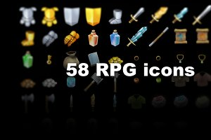 58 HD RPG Items
