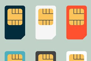 SIM cards for mobile phones