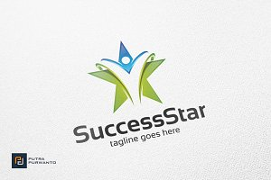Success Star - Logo Template