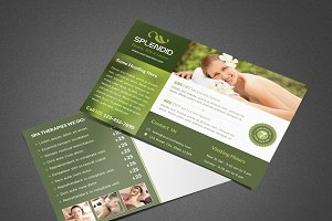 Splendid Beauty Spa / Salon Postcard